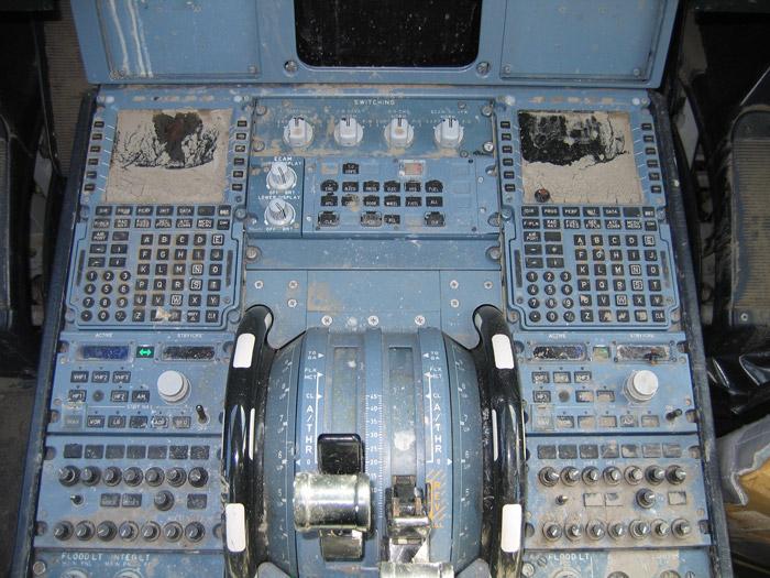 Hudson River Airbus A320 Cockpit