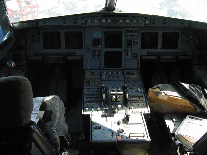 Hudson River US Airways 1549 Airbus A320 Cockpit