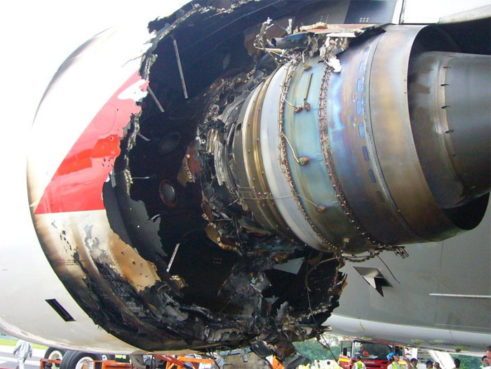 Qantas QF32 Airbus A380 Engine Damage