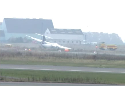 SAS Dash 8 - Q400 Gear Collapse at Copenhagen