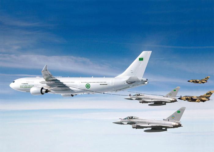 Saudi Arabia Airbus A330 Multi-Role Tanker Transport (MRTT)