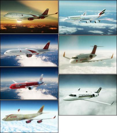 Aircraft Art