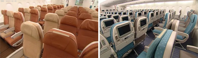 Singapore Airlines A380 Economy Class