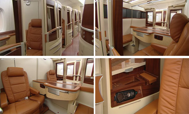 Singapore Airlines A380 SkySuite