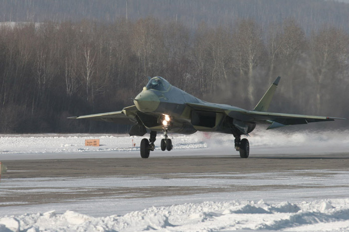 Sukhoi PAK-FA T-50 First Flight