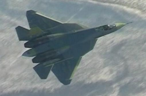 Sukhoi PAK-FA T-50 In-Flight