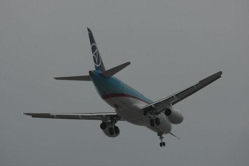 Sukhoi Superjet 100 Maiden Flight