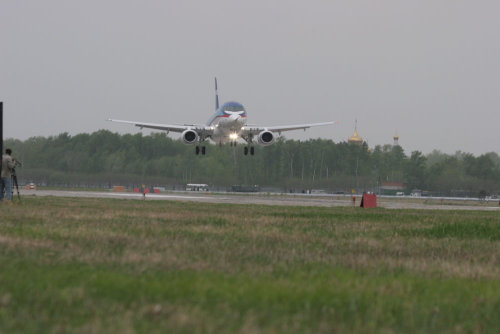 Sukhoi Superjet 100 Maiden Flight