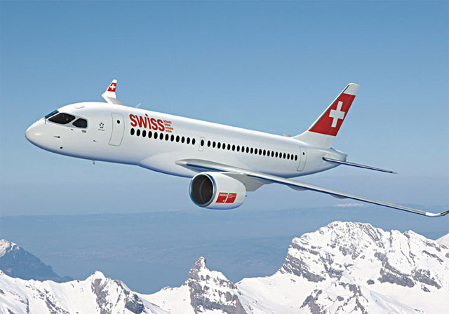 Swiss International Air Lines Bombardier CSeries
