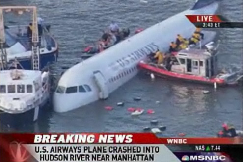 USAirways Flight 1549 Hudson River
