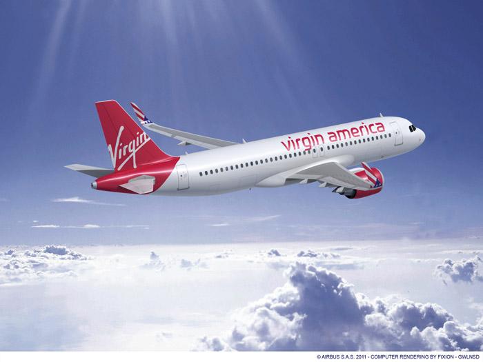 Virgin America Airbus A320neo