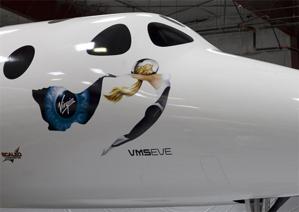 Virgin Galactic WhiteKnightTwo Nose Art